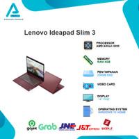 Lenovo Ideapad Slim 3 Athlon 3050 4GB 256ssd W10+OHS 14FHD- G4ID G6ID