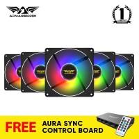 Armaggeddon Tessaraxx TX-iCore ARGB Fan | Support Aura Sync