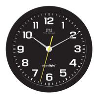 Jam Dinding Stylo Glow in The Dark Diameter 34cm Sweep SmartLight