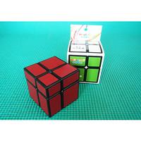 Rubik 2x2 Hello Cube Mirror 2x2 Black + Red Sticker