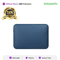 SOFTCASE LAPTOP SLEEVE SARUNG LAPTOP MACBOOK 15 INCH PU LEATHER