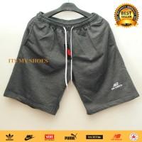 Celana Kolor Pria-Celana Pendek-Bahan Tebal-Abu