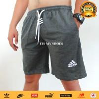 Celana Kolor Pria-Celana Olahraga Pendek-Bahan Tebal-Abu