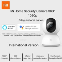 Xiaomi Mi Home Smart Camera 360 CCTV 1080P Garansi Resmi