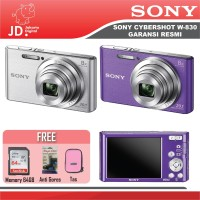 Sony Cyber-shot DSC-W830 Garansi Resmi Sony Digital Pocket Paket