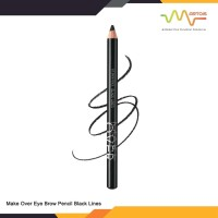 Make Over Eye Brow Pencil Black Lines 1.14gr