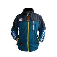 Jaket outdoor pria size m l xl terlaris - Black Indigo, M