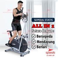 Sepeda Statis Orbitrack Platinum Bike Sepeda Fitness Air Bike 042-20