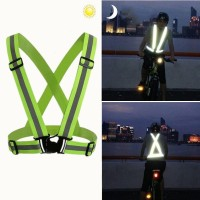 VIPBAZAAR Rompi Sabuk Keselamatan Dewasa Dengan Reflektif untuk sepeda