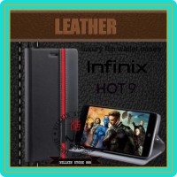 INFINIX NOTE 7 LITE X656 FLIP CASE PORSCHE WALLET HARD LEATHER COVER