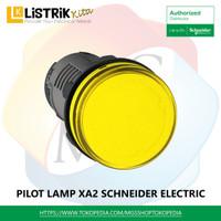 PILOT LAMP Schneider Monolitik, Integral LED220V AC - XA2EVM*LC - Kuning