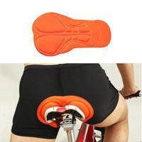 Celana dalam sepeda busa gel 3D breathable cycling underwear padding