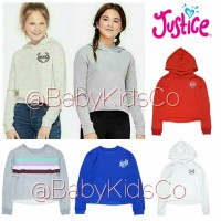 Sweater Justice sweatshirt anak perempuan sweater branded original ori