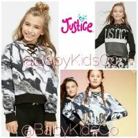 Sweater Justice Hoodie Sweatshirt anak perempuan kids sweater branded
