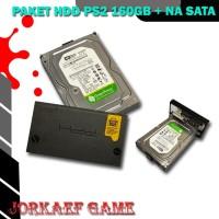 HDD NA SATA 160GB PAKET UNTUK MESIN PS2 HARDDISK NETWORK SATA GAMES