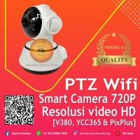 PTZ Wifi Smart Camera 720P Q6 - Kamera CCTV Baby Cam ( V380 & YCC360 )