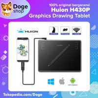 Huion H430P Graphic Drawing Pen Tablet OSU! alt (h420 420 g430 g430s) - Hitam