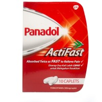 Panadol Actifast / Obat / Pereda rasa sakit dan demam