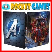 Ps4 Steelcase Marvel's Avengers / Steel Case Marvel Avenger