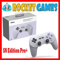8bitdo SN30 Pro+ Bluetooth Gamepad Switch Windows Android SN Edition