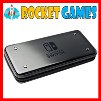 Aluminium Case Nintendo Switch Metal Vault Casing BLACK