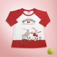 HELLO KITTY Original Kids T-Shirt Top Baju Anak HK2585