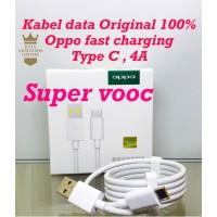Kabel Data Oppo Vooc Original Type C Fast Charging Kabel Charger Putih