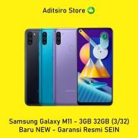Samsung Galaxy M11 - 3GB 32GB (3/32) - Baru NEW - Garansi Resmi SEIN