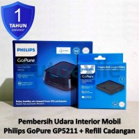Paket Philips Go Pure GP5211 + Replacement SFP120 Air Purifier Mobil