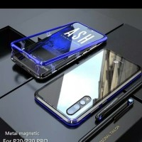 CASE CASING MAGNETIC ANTI BARET 2 IN 1 HUAWEI P20