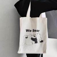 Tas Belanja / Eco Bag / Tote Bag Blacu / Tas kain - Beruang