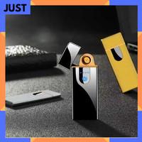 KOREK API ELEKTRIK FINGERPRINT TOUCH SCREEN SENSOR LISTRIK USB CHARGE