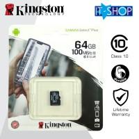 Kingston Micro SD Card Class-10 64GB