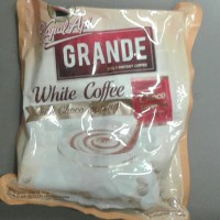 kapal api grande white coffee with choco topping 20sx20gr