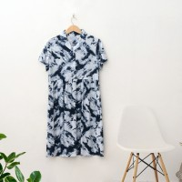 DS08 - Black Alena Shirt Dress - L