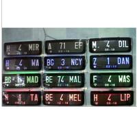 Aksesoris Variasi Dudukan Plat Nomor Mobil