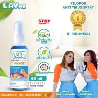 Lavme Hand Sanitizer Spray Anti Virus Organic - 60 ML Candy Candy