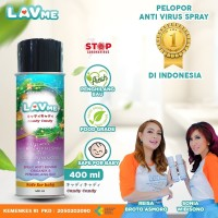 Lavme Disinfectant Spray Anti Virus Organic - 400 ML Candy Candy