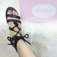 [GRATIS ONGKIR BISA COD]Sepatu sandal gladiator temali fashion wanita