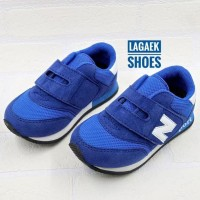 Get Cashback Sepatu Olahraga Anak Biru Velcro Usia 2 3 4 5 6 7 Tahun