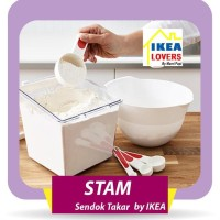 IKEA STAM - Sendok Takar, Set isi 4 pcs .
