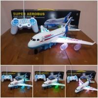 Mainan RC Pesawat Terbang Aerobus - RC Pesawat Terbang Airbus