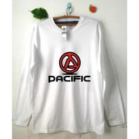Kaos Sepeda Gowes PACIFIC - Pria / Wanita - Lengan Pendek / Panjang