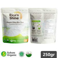 Tepung Beras Putih Organik   250gr   Rice 'n Shine   MPASI
