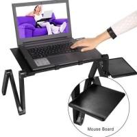 Meja Laptop table portable aluminium - meja Lipat kerja