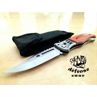 "Pisau Lipat Survival Outdoor / Simple Folded Knife ""Self Defense Shop"""