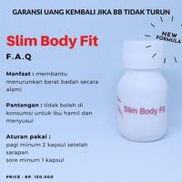 SLIM BODY FIT OBAT DIET DOKTER DIJAMIN BB TURUN DAN AMAN - slim body fit