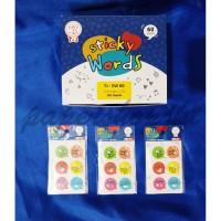 Tom n Jerry Sticker Kertas SW 60 - STICKER WORDS [ 1 PAD ]