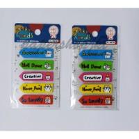 Tom n Jerry Sticker Kertas SW 50 - Sticker Words [ 1 PAD ]