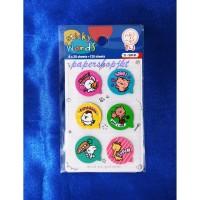 Tom n Jerry Sticker Kata SW 61 Sticker Words [ 1 PAD ]